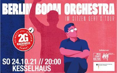 """BERLIN BOOM ORCHESTRA – """"Im Sitzen Geht's"""""""
